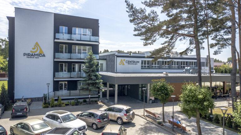 Zapraszamy do nowo otwartego Centrum Rehabilitacyjnego PIRAMIDA MEDICAL SPA w Mrzeżynie